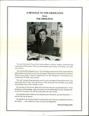 Page 6, 1985 Edition, Corlears Junior High School - Banner Yearbook (New York, NY) online yearbook collection