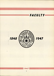 Page 13, 1947 Edition, La Salle Academy - La Sallite Yearbook (New York, NY) online yearbook collection