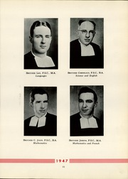 Page 15, 1947 Edition, La Salle Academy - La Sallite Yearbook (New York, NY) online yearbook collection