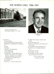 Page 5, 1987 Edition, Lynbrook North Middle School - North Owl Yearbook (Lynbrook, NY) online yearbook collection