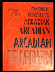 1976 Edition, Arcadia High School - Arcadian Yearbook (Arcadia, CA)