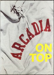 1987 Edition, Arcadia High School - Arcadian Yearbook (Arcadia, CA)