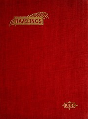 Page 1, 1900 Edition, Monmouth College - Ravelings Yearbook (Monmouth, IL) online yearbook collection