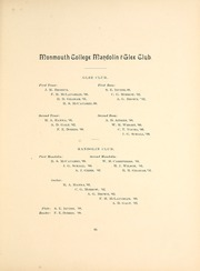 Page 99, 1900 Edition, Monmouth College - Ravelings Yearbook (Monmouth, IL) online yearbook collection