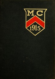 Monmouth College - Ravelings Yearbook (Monmouth, IL) online yearbook collection, 1915 Edition, Page 1