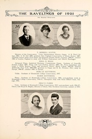 Page 145, 1921 Edition, Monmouth College - Ravelings Yearbook (Monmouth, IL) online yearbook collection