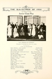 Page 156, 1921 Edition, Monmouth College - Ravelings Yearbook (Monmouth, IL) online yearbook collection
