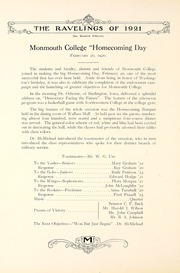 Page 160, 1921 Edition, Monmouth College - Ravelings Yearbook (Monmouth, IL) online yearbook collection