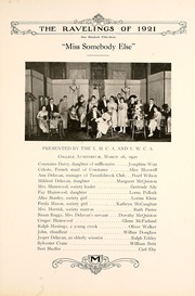 Page 161, 1921 Edition, Monmouth College - Ravelings Yearbook (Monmouth, IL) online yearbook collection