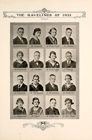 Page 77, 1921 Edition, Monmouth College - Ravelings Yearbook (Monmouth, IL) online yearbook collection