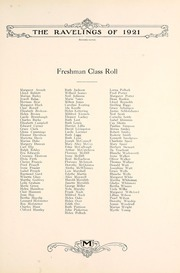 Page 83, 1921 Edition, Monmouth College - Ravelings Yearbook (Monmouth, IL) online yearbook collection