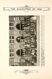 Page 84, 1921 Edition, Monmouth College - Ravelings Yearbook (Monmouth, IL) online yearbook collection
