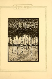 Page 13, 1922 Edition, Monmouth College - Ravelings Yearbook (Monmouth, IL) online yearbook collection