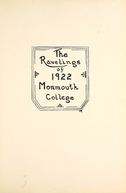 Page 7, 1922 Edition, Monmouth College - Ravelings Yearbook (Monmouth, IL) online yearbook collection