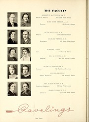 Page 16, 1938 Edition, Monmouth College - Ravelings Yearbook (Monmouth, IL) online yearbook collection