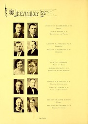 Page 16, 1939 Edition, Monmouth College - Ravelings Yearbook (Monmouth, IL) online yearbook collection