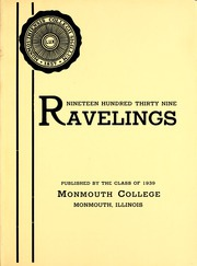 Page 7, 1939 Edition, Monmouth College - Ravelings Yearbook (Monmouth, IL) online yearbook collection