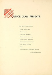 Page 8, 1943 Edition, Monmouth College - Ravelings Yearbook (Monmouth, IL) online yearbook collection