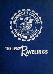 Page 1, 1952 Edition, Monmouth College - Ravelings Yearbook (Monmouth, IL) online yearbook collection