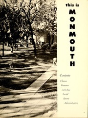 Page 7, 1954 Edition, Monmouth College - Ravelings Yearbook (Monmouth, IL) online yearbook collection