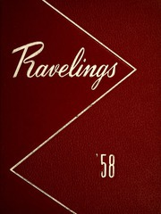 Monmouth College - Ravelings Yearbook (Monmouth, IL) online yearbook collection, 1958 Edition, Page 1