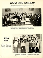 Page 72, 1960 Edition, Monmouth College - Ravelings Yearbook (Monmouth, IL) online yearbook collection