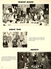 Page 74, 1960 Edition, Monmouth College - Ravelings Yearbook (Monmouth, IL) online yearbook collection