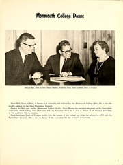Page 9, 1962 Edition, Monmouth College - Ravelings Yearbook (Monmouth, IL) online yearbook collection