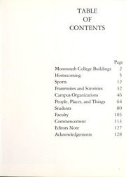 Page 5, 1986 Edition, Monmouth College - Ravelings Yearbook (Monmouth, IL) online yearbook collection