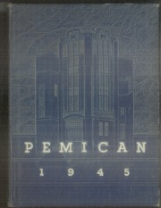 Central High School - Pemican Yearbook (High Point, NC) online yearbook collection, 1945 Edition, Page 1