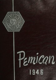 Central High School - Pemican Yearbook (High Point, NC) online yearbook collection, 1946 Edition, Page 1