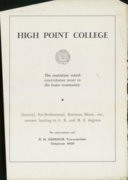Page 15, 1947 Edition, Central High School - Pemican Yearbook (High Point, NC) online yearbook collection