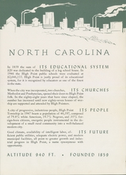 Page 9, 1947 Edition, Central High School - Pemican Yearbook (High Point, NC) online yearbook collection