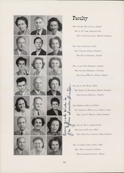 Page 18, 1948 Edition, Central High School - Pemican Yearbook (High Point, NC) online yearbook collection