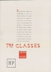 Page 25, 1948 Edition, Central High School - Pemican Yearbook (High Point, NC) online yearbook collection