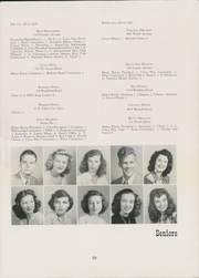 Page 33, 1948 Edition, Central High School - Pemican Yearbook (High Point, NC) online yearbook collection