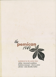 Page 3, 1949 Edition, Central High School - Pemican Yearbook (High Point, NC) online yearbook collection