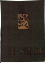 Page 1, 1952 Edition, Central High School - Pemican Yearbook (High Point, NC) online yearbook collection