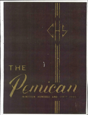 Page 1, 1964 Edition, Central High School - Pemican Yearbook (High Point, NC) online yearbook collection