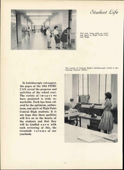 Page 10, 1964 Edition, Central High School - Pemican Yearbook (High Point, NC) online yearbook collection
