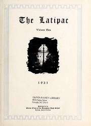 Page 5, 1931 Edition, Needham Broughton High School - Latipac Yearbook (Raleigh, NC) online yearbook collection