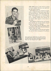 Page 14, 1942 Edition, Needham Broughton High School - Latipac Yearbook (Raleigh, NC) online yearbook collection