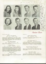 Page 15, 1948 Edition, Needham Broughton High School - Latipac Yearbook (Raleigh, NC) online yearbook collection