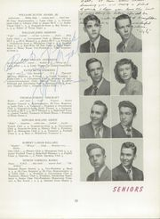 Page 17, 1949 Edition, Needham Broughton High School - Latipac Yearbook (Raleigh, NC) online yearbook collection