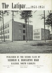 Page 5, 1954 Edition, Needham Broughton High School - Latipac Yearbook (Raleigh, NC) online yearbook collection