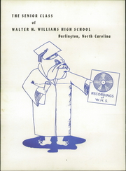Page 6, 1953 Edition, Williams High School - Doe Wah Jack Yearbook (Burlington, NC) online yearbook collection