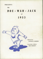 Page 7, 1953 Edition, Williams High School - Doe Wah Jack Yearbook (Burlington, NC) online yearbook collection