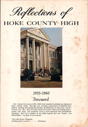 Page 5, 1960 Edition, Hoke County High School - Ekoh Yearbook (Raeford, NC) online yearbook collection