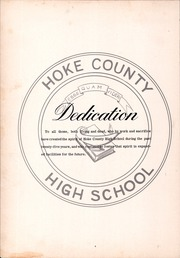Page 8, 1960 Edition, Hoke County High School - Ekoh Yearbook (Raeford, NC) online yearbook collection