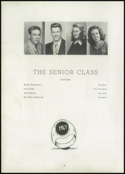 Page 12, 1947 Edition, Shelby High School - Cruiser Yearbook (Shelby, NC) online yearbook collection